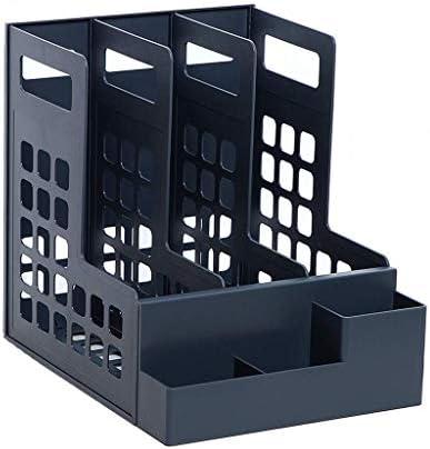 Datei Halter Ordner Aufbewahrungsbox Desktop-Datenspeicherregal Ordner Regal Convenience Xping