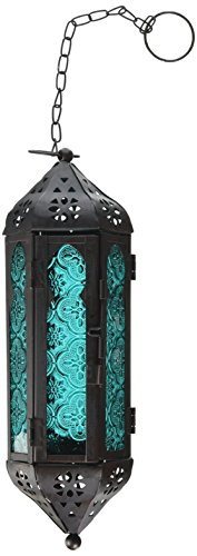 Light 1 Pendant Enchantment - Koehler Home Decor Ocean Blue Serenity Hanging Lamp