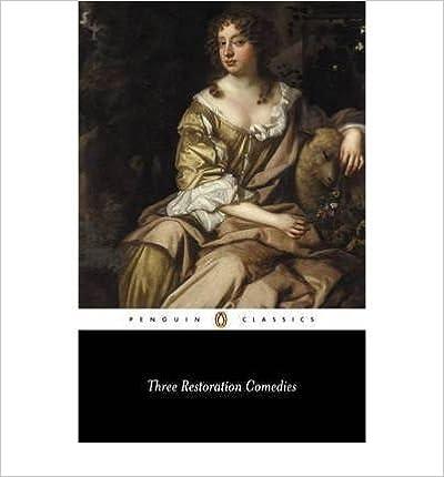 Téléchargement d'ebook gratuit sans inscription Three Restoration Comedies (French Edition) PDF DJVU FB2