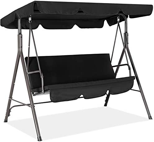 Fundouns 2-Person Patio Porch Swing Chair