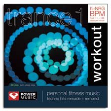 Power Music - Trance Trax 1: Two 30 Minute hi-NRG Non-stop Workouts + Mp3  Download Bonus Tracks