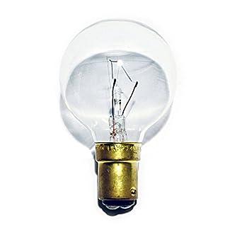 6 x Golf Ball Light Bulbs 40W SBC B15 Classic Mini Globes P45 Clear Round, Small  Bayonet Cap, Incandescent