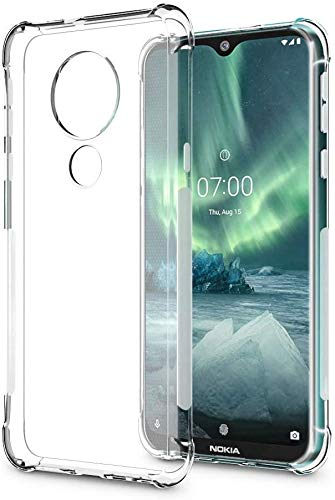 Hifad Case Transparent Back Cover for Nokia 5.3