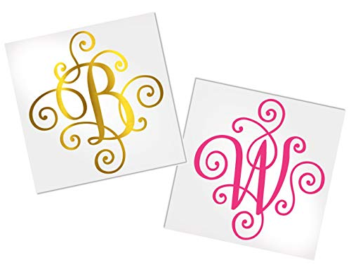 Decal for Women to use on Cup, Car or Laptop, Your Choice of Color & Style | Decals by ADavis (Best Vinyl To Use On Yeti Cups)