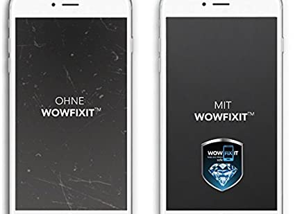 amazon com wow fix it for 1 device liquid screen protector for