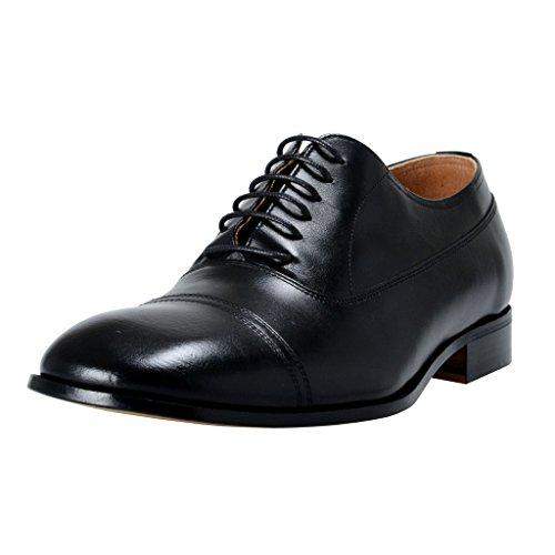 maison-margiela-22-mens-black-leather-oxfords-shoes-us-9-it-42