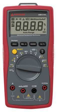 Digital Multimeter, 600V, 40 MOhms, 10A