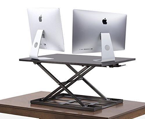 Standing Desk Converter INNOVADESK 32 22 Inches  Standing Drafting Table   Desktop Converter To Stand Up   Laptop ...