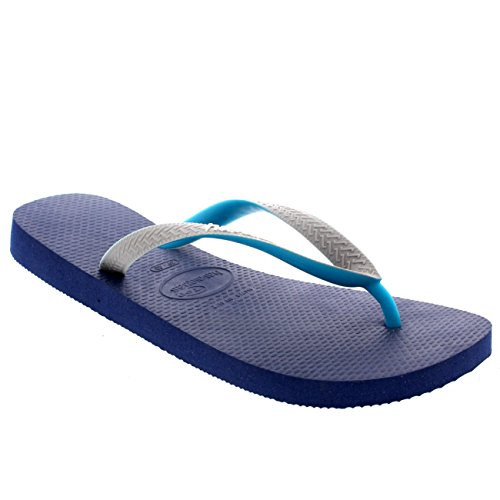 Hombres Havaianas Top Mix Casual Summer Vacation Beach Chanclas Sandalias Azul Marino / Gris / Verde