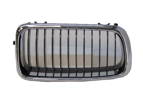 Bmw 740i Replacement Grille (99-01 BMW 7 SERIES 740i 740iL FRONT GRILLE CHR FRAME RH)