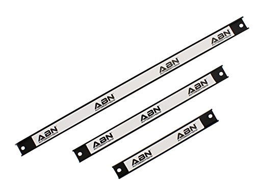 "ABN Magnetic Tool Holder 3-Piece Set of 8"", 12"", 18"" Inch Strip Racks with Mounting Screws – For Garage and Workshop by ABN (Image #4)"