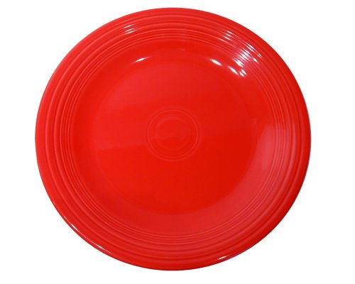 9 Luncheon Plate, Scarlet