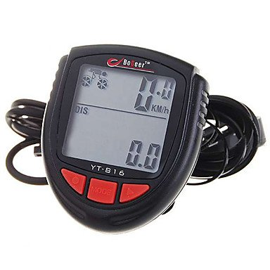 """1.4"""" LCD Electronic Bicycle Computer/Speedometer"""