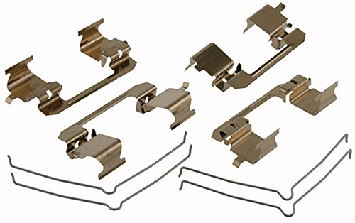 ACDelco 18K1888X Professional Front Disc Brake Caliper Hardware Kit with Clips and Springs