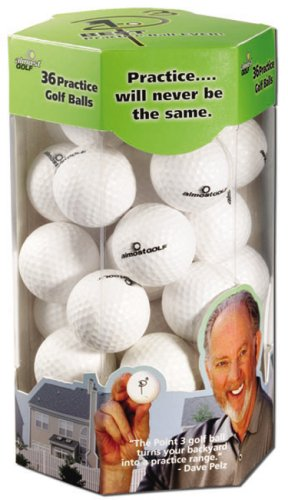 AlmostGolf Point3 36 Ball Pack - White