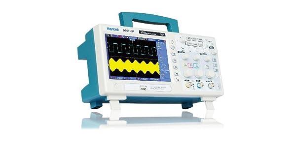 Hantek Dso5202p almacenamiento Osciloscopio 200MHz 2 canales 1GSa s Longitud de registro Osciloscopio de mano USB Osciloscopio digital