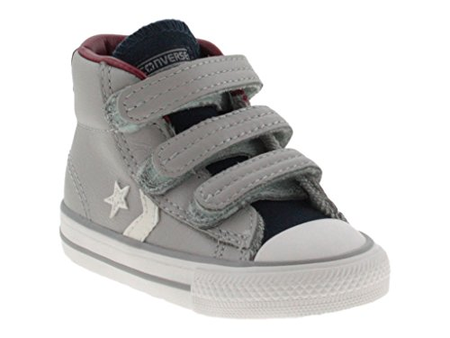 Converse 755169C Grauen Stern Pleyer EV Baby Shoes All Star Mid Tücken Grigio