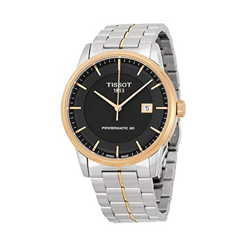 - Tissot Men's TIST0864072205100 Powermatic 80 Analog Display Swiss Automatic Two Tone Watch