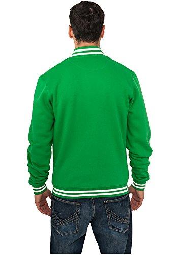 green Classics College Sweatjacket Uomo C Felpa Urban Yq6nH6