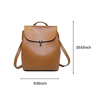 eee546d22db2 NAGU Women's Mini Pu Leather Backpack Purse Ladies,Casual Shoulder ...