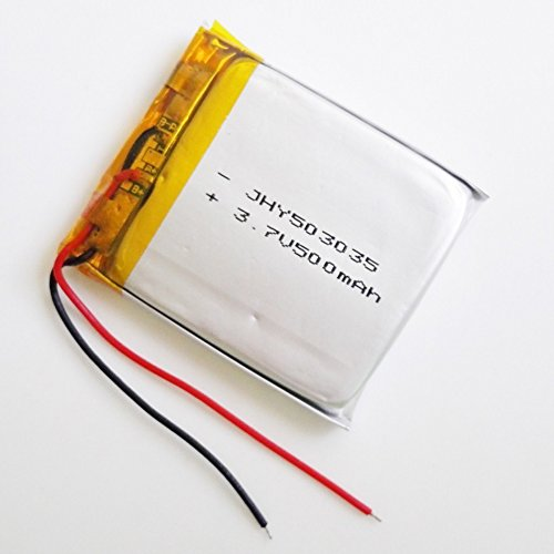 Ofeely 3.7V 500mah 503035 Lithium Polymer Li-Po Rechargeable Battery for DIY Mp3 MP4 MP5 GPS