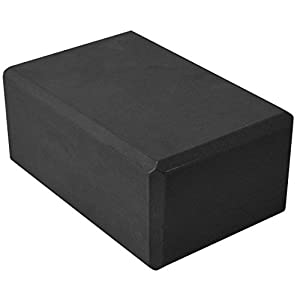 YogaAccessories 4'' Foam Exercise Yoga Block