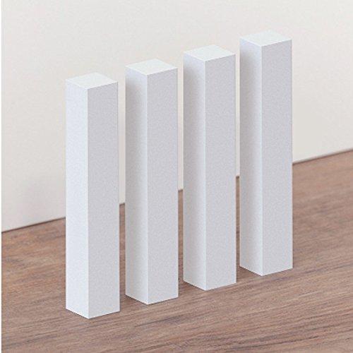 Esquinas de la madera universal 18 x 18 x 118 interior / exterior por zó calo, haya, blanco barnizado Südbrock