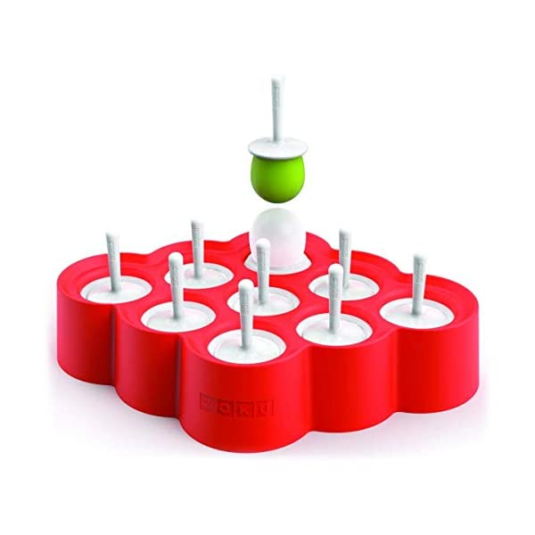 Zoku Slow Pops - stampi in silicone per ghiaccioli facili da rimuovere con protezioni antigoccia 1 spesavip