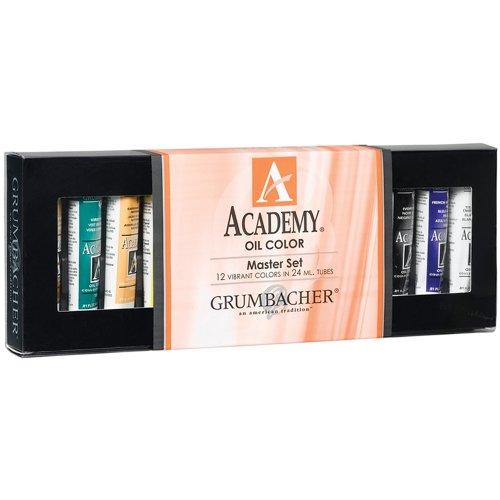 grumbacher-academy-oil-paint-24ml-081-oz-12-color-set