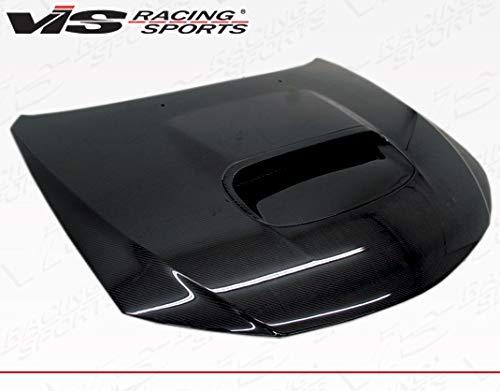 VIS Racing (VIS-ULX-575) Black Carbon Fiber Hood STI Style for Subaru WRX Hatchback & 4DR 08-14