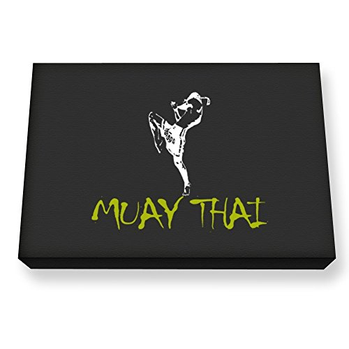 Teeburon Muay Thai Canvas Wall Art by Teeburon