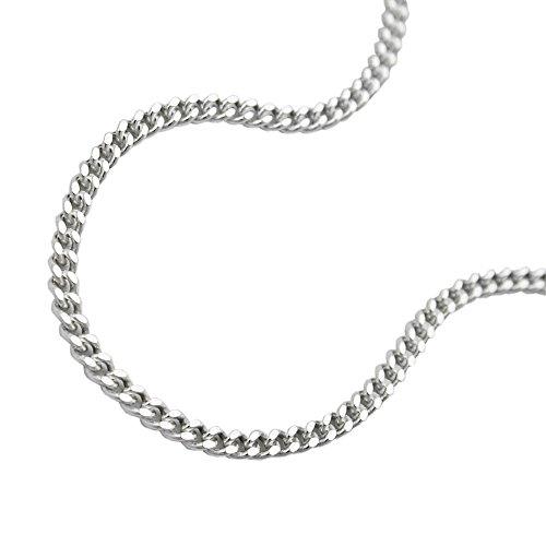 Bijoux Chaîne argent gourmette 60 cm