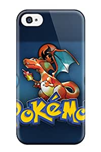 New Arrival Case Cover With LFEaNDg3034lgTMx Design For Iphone 4/4s- Pokemon