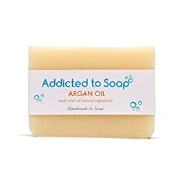 Addicted to Soap – Old Fashioned Natural Shampoo Bar 5 Ounces Eco-Friendly Solid Bar Shampoo for Men & Women Organic…