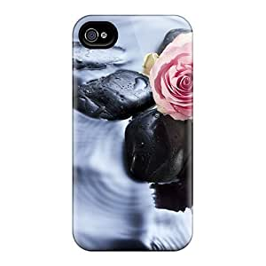 Mialisabblake Case Cover Protector Specially Made For Iphone 4/4s Wait Love Rose