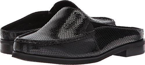 (Walking Cradles Women's Windsor Black Patent Snake Print Leather 9 M US)