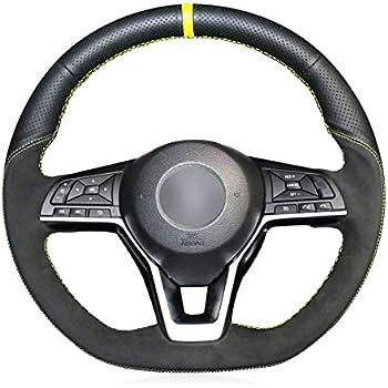 Amazon.com: OUYUE DIY Artificial Leather Steering Wheel ...