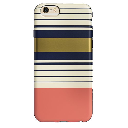 Agent18 iPhone 6 / iPhone 6S Case, - Preppy Stripes - - 18 Shield Shock Agent