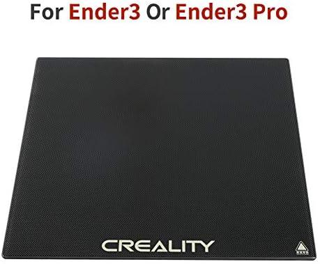 Comgrow Impresora 3D cama de vidrio para Ender-3 Ender-5 235 x 235 ...
