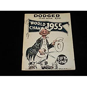 1956 Brooklyn Dodgers Yearbook EX Signed by Furillo (4x) Snider Erskine Lasorda Autographed MLB Magazines