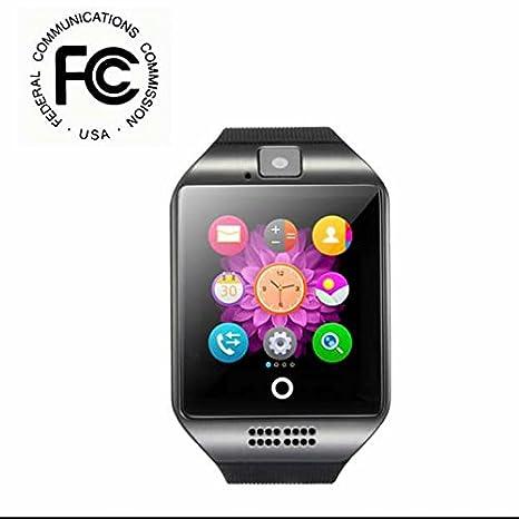Smart Watch Teléfono Móvil Reloj Dormir Supervisión, Smart Frecuencia Cardíaca Reloj de pulsera, audio y vídeo ...
