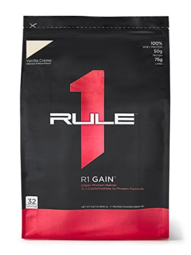 R1 Gain, Rule 1 Proteins (Vanilla Creme, 32 Servings)