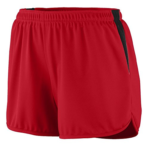 Augusta Sportswear WOMEN'S VELOCITY TRACK SHORT XL Red/Black