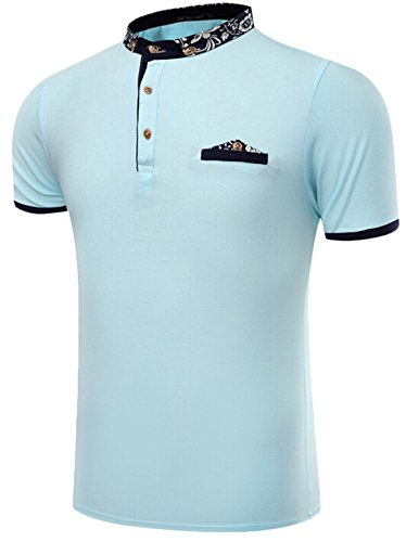 yayu-mens-solid-color-polo-short-sleeved-t-shirt-light-blue-s