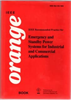 ieee std 446 1995 ieee recommended practice for emergency and standby power systems for - Ieee Color Books
