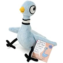 """Don't Let the Pigeon Drive the Bus 6"""" Pigeon Plush Doll (Mo Willems)"""