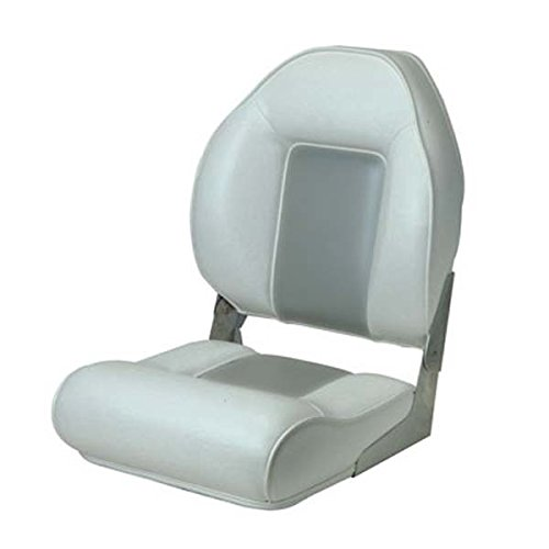 Garelick/Eez-In 48691-09:02 690 Citation High Back Premium Fold-Down Seat - Gray - Garelick Premium Seat