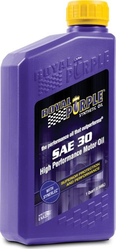 Royal Purple 12030 SAE 30 Heavy Duty High Performance Synthetic Motor Oil - 1 qt. (Case of 12) by Royal Purple