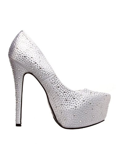 Adult Silver Platform High Heel with (Giselle Costume)