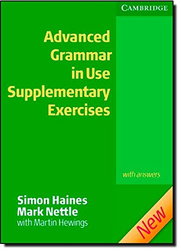Advanced Grammar in Use Supplementary Exercises with Answers -